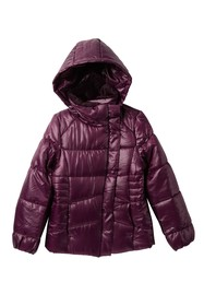 Jessica Simpson Quilted Jacket (Big Girls)