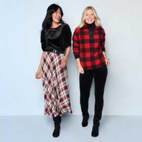 Women's Chaps Winter Outfits