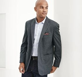 Johnston Murphy XC4® Textured Print Blazer