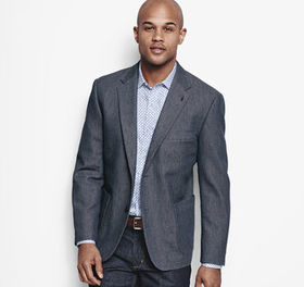 Johnston Murphy Textured Fleck Blazer