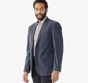 Johnston Murphy Washed Print Blazer