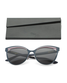DIOR Made In Japan 54mm Cat Eye Designer Sunglasse