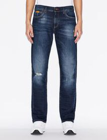 Armani STRAIGHT-CUT FIVE-POCKET JEANS