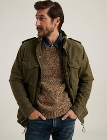 Lucky Brand M65 Field Jacket With Removable Sherpa