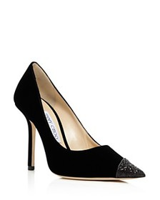 Jimmy Choo - Women's Love 100 Embellished Pointed