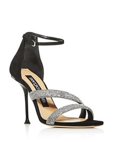 Sergio Rossi - Women's Milano Embellished High-Hee