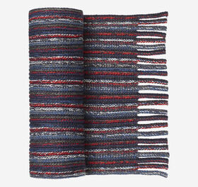 Johnston Murphy Marled Stripe Scarves