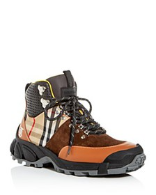 Burberry - Women's Check Hiking Boots