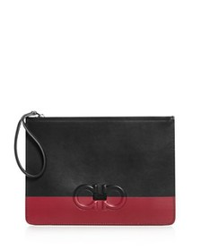 Salvatore Ferragamo - Firenze Logo Color-Block Lea