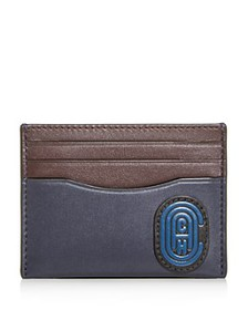 COACH - Flat Leather Card Case