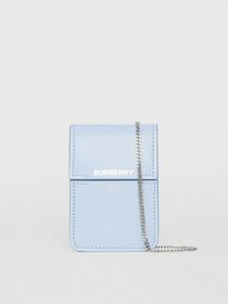Burberry Horseferry Print Leather Card Case Lanyar