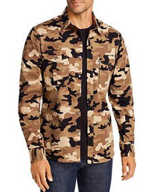 Michael Kors - Camo Slim Fit Shirt Jacket