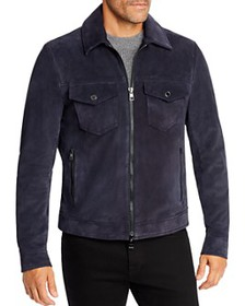 Michael Kors - Suede Trucker Jacket