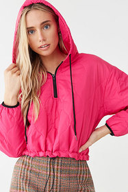 Quilted Drawstring Anorak