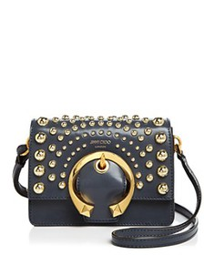 Jimmy Choo - Madeline Small Studded Leather Should