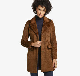 Johnston Murphy Crushed Teddy Coat