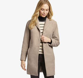 Johnston Murphy Microfleece Snap-Front Coat