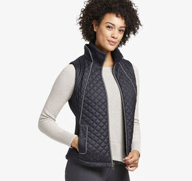 Johnston Murphy Diamond-Quilted Vest