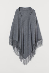 Triangular Wool Scarf