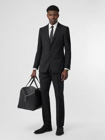 Burberry English Fit Wool Mohair Tailored Jacket i