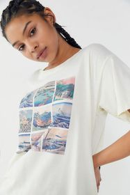 Future State Wave Art Collage Tee