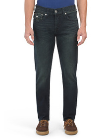 TRUE RELIGION Geno Flap Big T Jeans