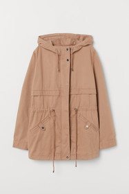 H&M+ Short Cotton Parka