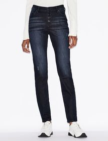 Armani J27 FIVE-POCKET, STRETCH DENIM JEANS