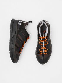 Burberry Mesh and Nubuck Union Sneakers in Black/g