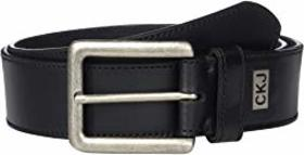 Calvin Klein 38 mm Flat Strap w/ Stitched Edge, In