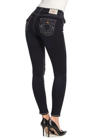 True Religion Jennie Flap Pocket Skinny Jeans