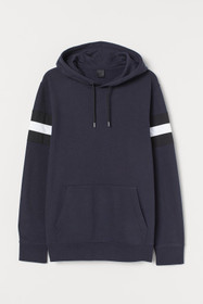 Hooded Shirt with Panels