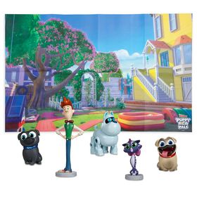 Disney Puppy Dog Pals Figure Play Set – Toys for T