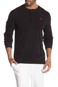 True Religion Long Sleeve Henley