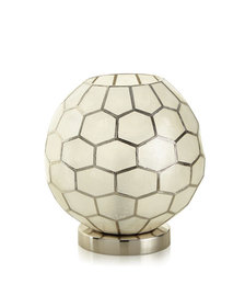 Honeycomb Ambient Light Silver