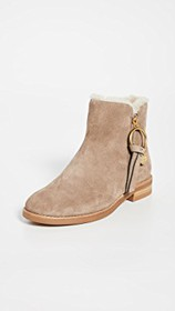 See by Chloe Louise Flat Shearling Boots