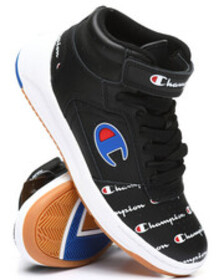 Champion super c court leather print sneakers