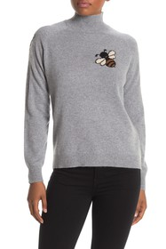 7 Seasons Cashmere Bee Embroidered Sweater