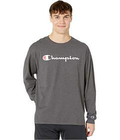 Champion Classic Jersey Graphic Long Sleeve Tee