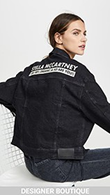 Stella McCartney Logo Jean Jacket