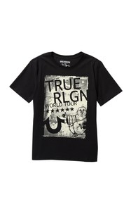 True Religion World Tour T-Shirt (Big Boys)