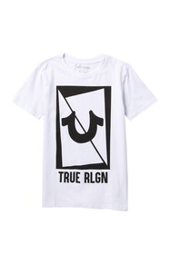 True Religion True Square T-Shirt (Big Boys)