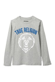 True Religion Skyline Long Sleeve T-Shirt (Big Boy