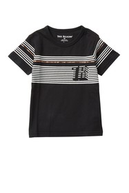 True Religion Pop Stripe T-Shirt (Little Boys)