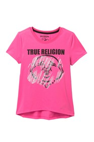 True Religion Buddha T-Shirt (Big Girls)