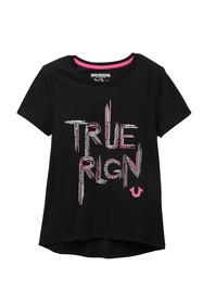 True Religion Sketched T-Shirt (Big Girls)