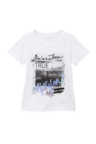 True Religion Multimedia T-Shirt (Big Girls)