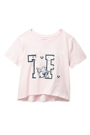 True Religion Drop Shoulder T-Shirt (Big Girls)