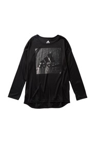 adidas Long Sleeve Graphic T-Shirt (Toddler