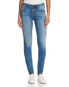 True Religion - Jennie Curvy Skinny Jeans in Authe